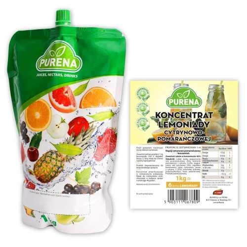 Lemoniada cytryna-pomarńcza (koncentrat) 6l/1kg