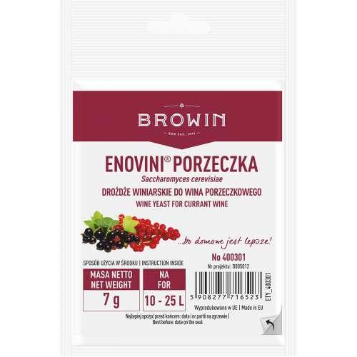 Drożdże winiarskie Enovini Porzeczka, 7 g