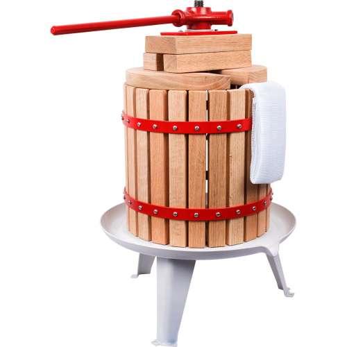 Prasa śrubowa do owoców - drewno, 12 l