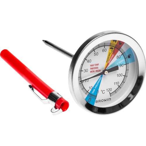 Termometr do szynkowara 0,8 kg, tarcza, 0-120°C