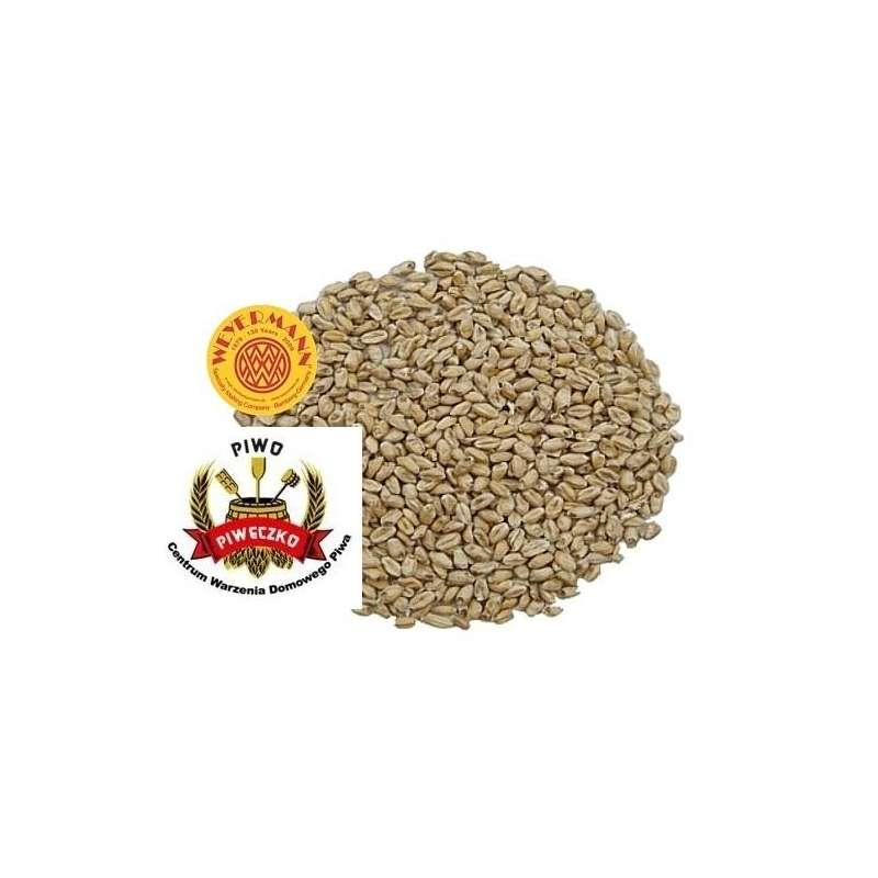 Słód pszeniczny Grodziski wędzony dębem 4-6 EBC Weyermann 0,5 kg