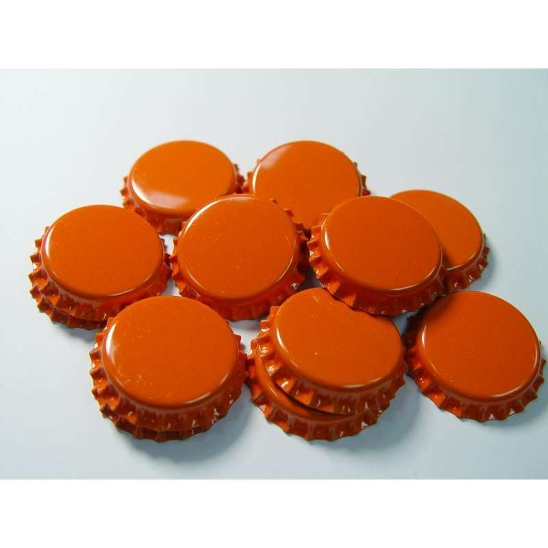 Kapsle pomarańczowe 50 szt