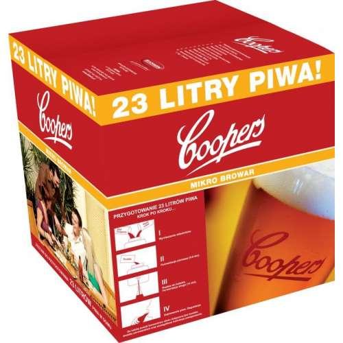 Tani zestaw do robienia piwa - 23 litry
