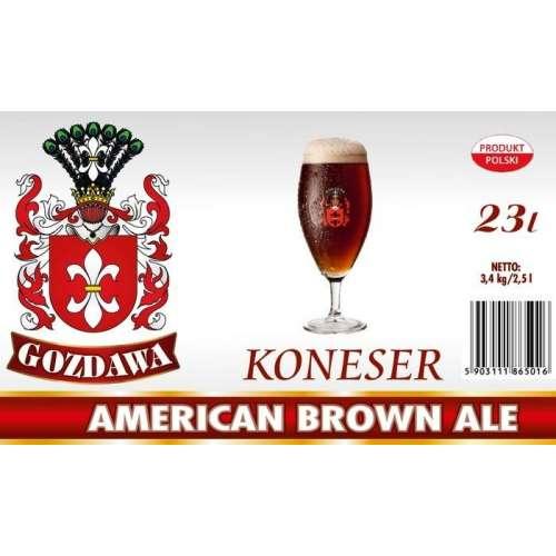 Gozdawa -American Brown Ale - Seria Koneser