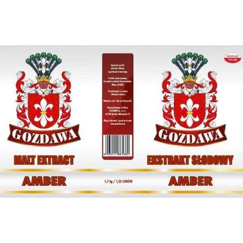 Gozdawa - Bursztynowy ekstrakt 1,7 kg - AMBER