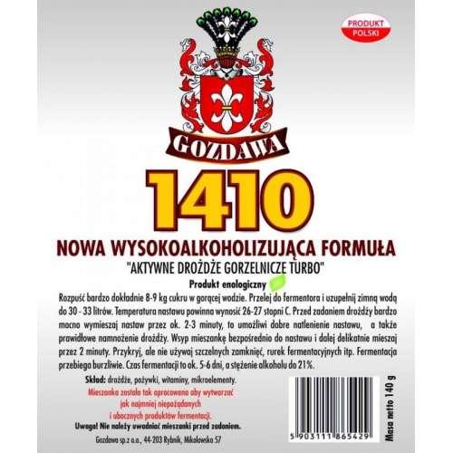 Drożdże gorzelnicze 1410