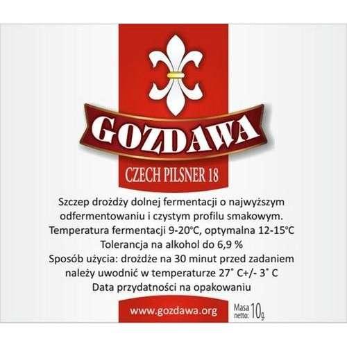 Gozdawa - Czech Pilsner 18 10g