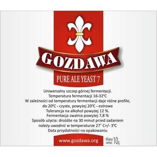 Gozdawa - Pure Ale Yeast 7 10g