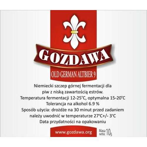 Gozdawa - Old German Altbier 9 10g
