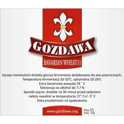 Gozdawa - Bavarian Wheat 11 10g