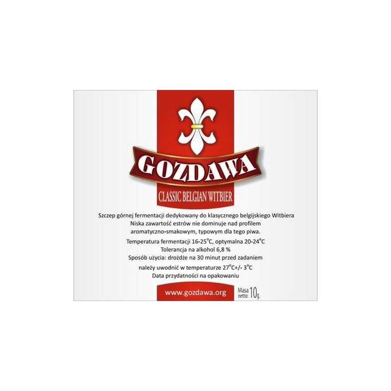 Gozdawa - Classic Belgian Witbier 10g