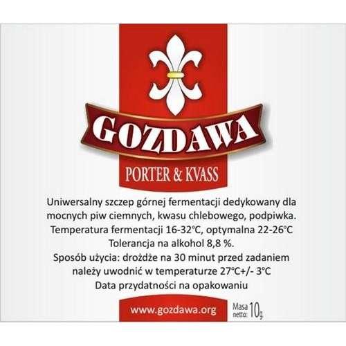 Gozdawa - Porter i Kvass 10g