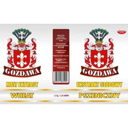 Gozdawa - Pszeniczny ekstrakt słodowy 1,7kg
