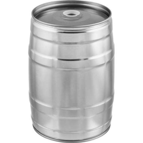 Mini-Keg 5 l do piwa Srebrny